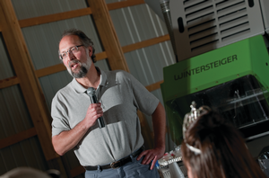 AgBioResearch director Doug Buhler